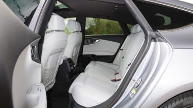 Audi A7 - rear seats