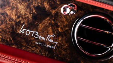 Bentley Mulsanne special - wood finish
