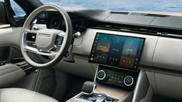 Range Rover leak - interior