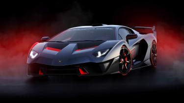 Lamborghini SC18 - front studio