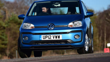 Volkswagen up! - front action
