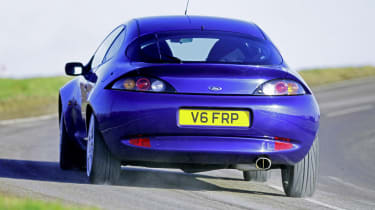 Ford Puma icon review - racing rear