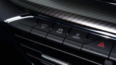 Skoda Octavia vRS - buttons