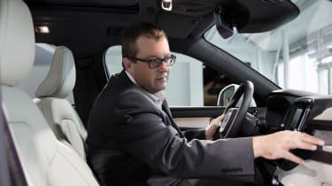 Volvo XC40 - John McIlroy inside
