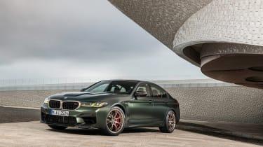 BMW M5 CS - front static 2
