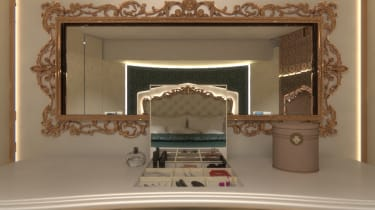 Marchi Mobile eleMMent palazzo Superior mirror