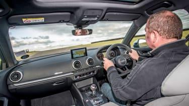 Audi RS3 2018 long-term interior