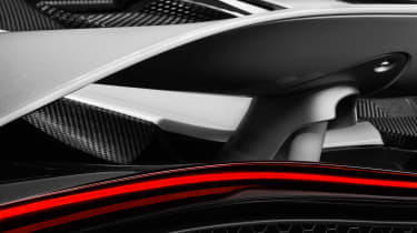 McLaren Super Series replacement - rear detail