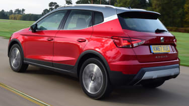 SEAT Arona - rear action
