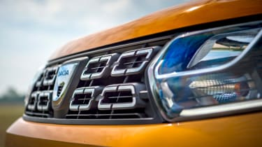 Dacia Duster - grille