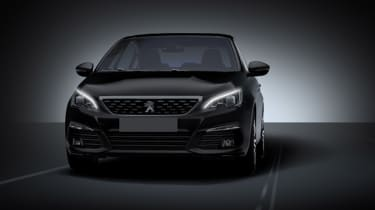 Peugeot 308 2018 facelift leak front
