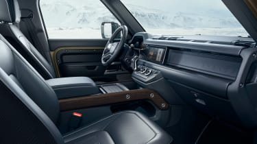2019 Land Rover Defender interior trim