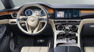 Bentley Continental GT - dash
