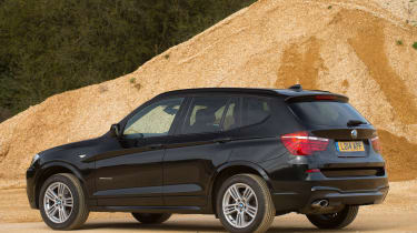 Used BMW X3 - rear
