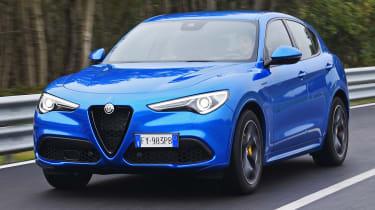 Alfa Romeo Stelvio - front tracking