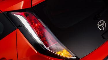 New Toyota Aygo lights