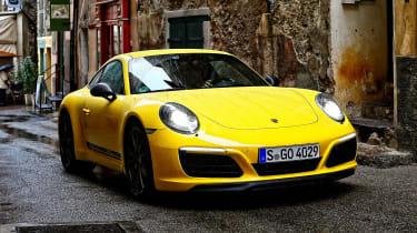 Porsche 911 Carrera T - front