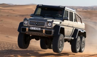 Mercedes G63 AMG 6x6 front action