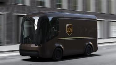 Arrival UPS van