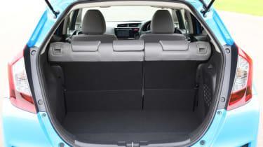 New Honda Jazz Hybrid boot