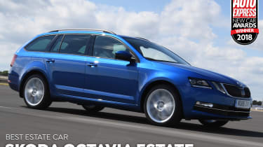 Skoda Octavia Estate - 2018 Estate Car of the Year