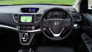 Honda CR-V long-termer interior