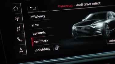 Audi S8 - drive mode