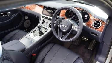 2018 Bentley Continental GT - interior