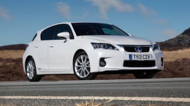 Used Lexus CT - front