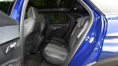 Used Peugeot 3008 Mk2 - rear seats
