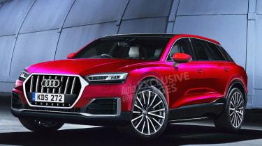Audi Q8 SUV render watermarked