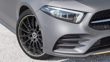 New Mercedes A-Class - front detail