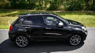 Fiat 500 X Sport - side