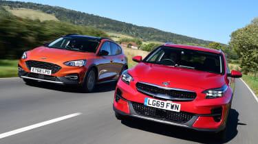 Kia XCeed vs Ford Focus Active