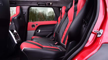 Range Rover Sport SVR - cabin