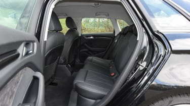 Audi RS3 group - rear seats