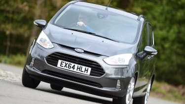 Ford B-MAX - front cornering