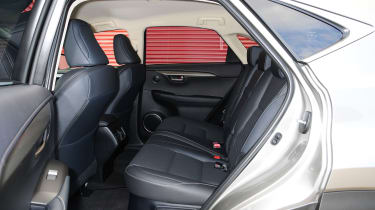 Lexus NX rear seats