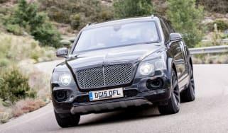 Bentley Bentayga prototype first drive - front action
