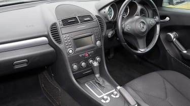 Used Mercedes SLK - interior