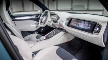 Skoda VisionS concept - front seats