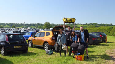 Dacia Duster long term Glasto