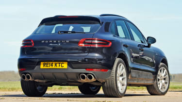 Porsche Macan - rear static