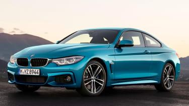 BMW 4 Series facelift 2017 - front quarter