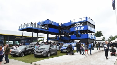 Ford Goodwood stand - overview