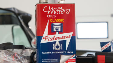 Old motor oil