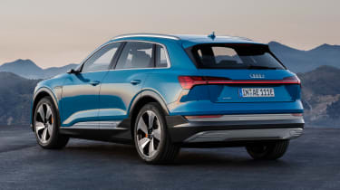Audi e-tron - rear/side
