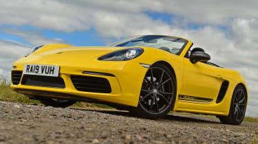 Porsche Boxster T - front static