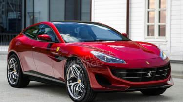 Ferrari SUV - front (watermarked)