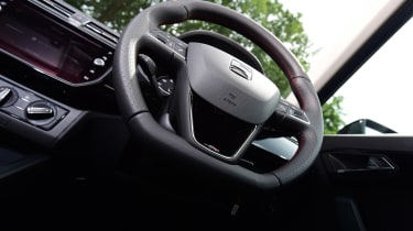 SEAT Ibiza - steering wheel